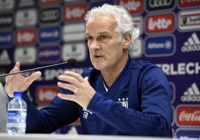 """Anderlecht fait face non pas à deux matchs difficiles, """"mais à cinq"""", d'après Rutten"""