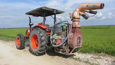 Photo: Bio-pesticide machine