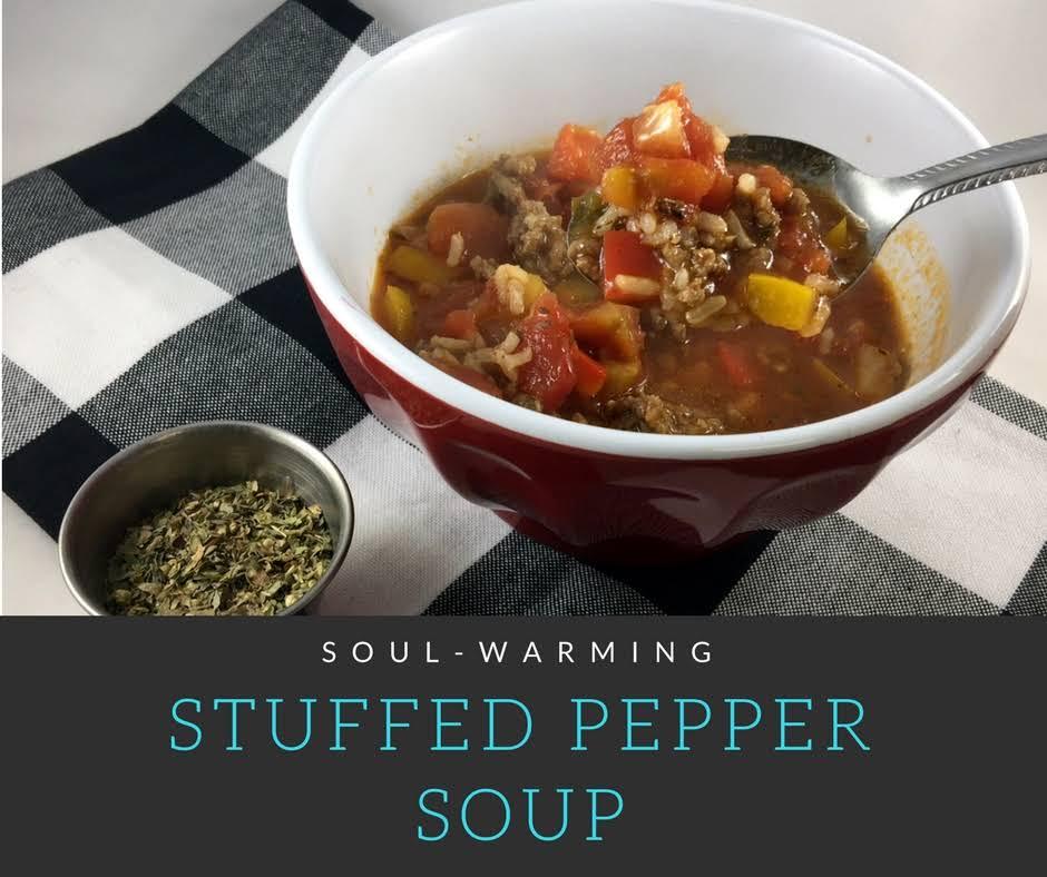 Soul-Warming Stuffed Pepper Soup