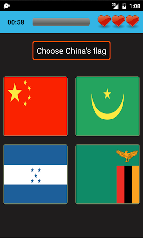 android World geo quiz Screenshot 2