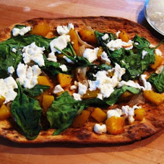 Butternut Squash Pizza.