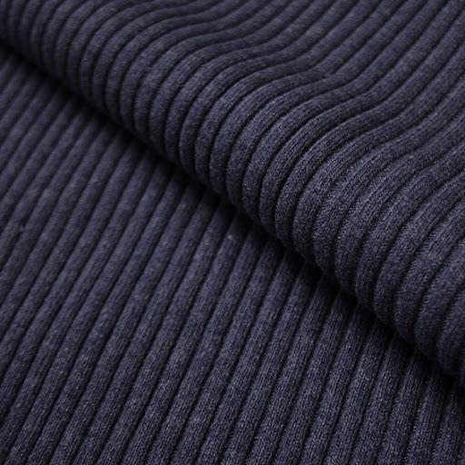 Bred Muddväv - marinblå