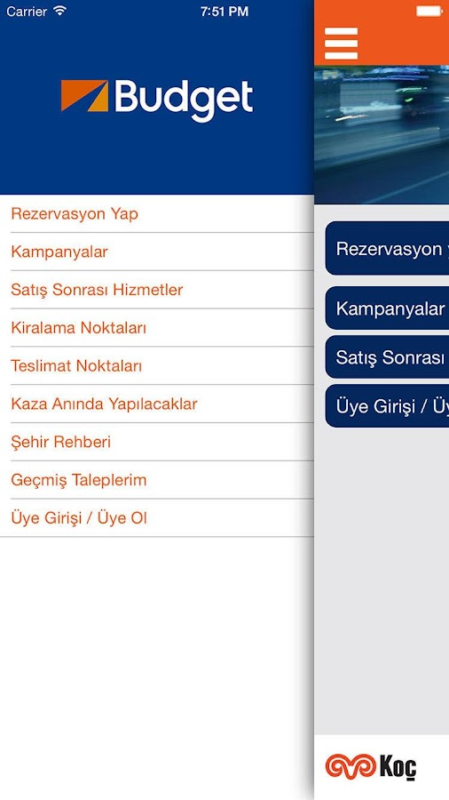Budget Türkiye- screenshot