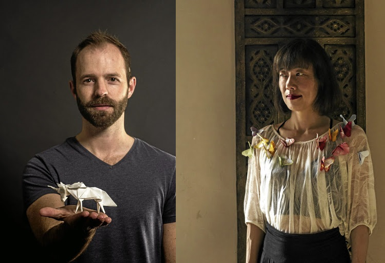 Ross Symons of Instagram's White on Rice and Sanae Sawada of The Butterfly Guild.