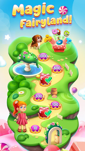 Code Triche Candy Charming - 2019 Match 3 Puzzle Free Games APK MOD screenshots 3