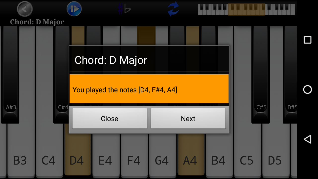 Piano scales chords free android apps on google play piano scales chords free screenshot hexwebz Choice Image