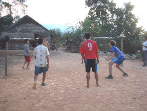Photo: Play sport with Akha-Trekking in Muang Sing
