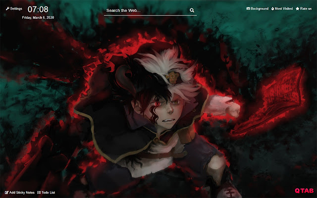 Black Clover Wallpapers Hd For New Tab