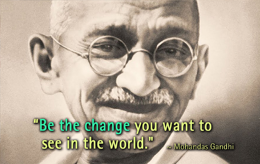 Life Lessons Of Mahatma Gandhi