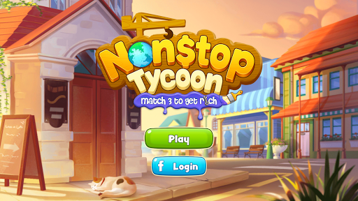 Nonstop Tycoon - Match 3 to get rich  screenshots 1