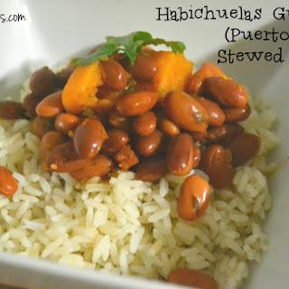 Habichuelas Guisadas (Puerto Rican Stewed Beans) Recipe