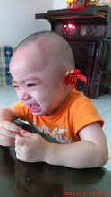 "Photo: 拔拔果然都很愛""搞""小孩^^"""