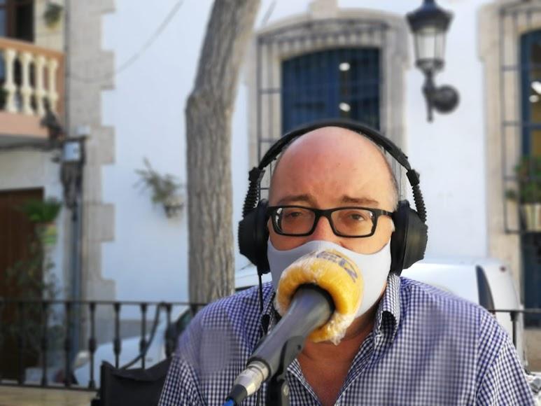 Rafael García,  presidente de la Asociación Cultural Nijar.