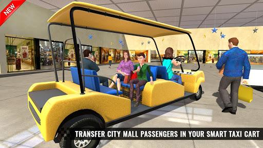 Shopping Mall Smart Taxi: Family Car Taxi Games 1.1 screenshots 2