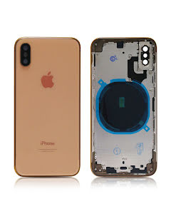 iPhone XS Housing without small parts HQ Gold