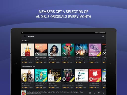 Audible Audiobooks: Stories & Audio Entertainment apktram screenshots 8