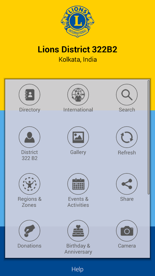 Lions Clubs Int District 322B2- screenshot