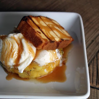 Grilled Pineapple Pound Cake.