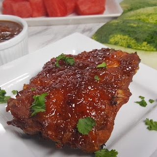 Pressure Cooker Watermelon Baby Back Ribs.