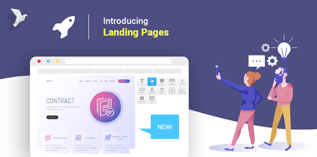 Explains what a landing page is