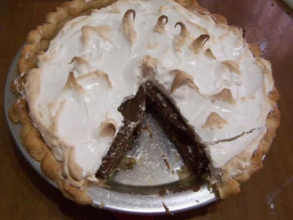 Grandma Jackson's Chocolate Cream Pie Recipe