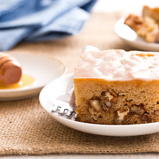 Honey Nut Snack Cake