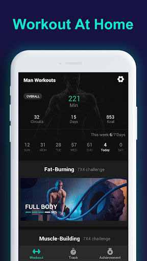 Man Workouts - Abs Workout & Building Muscle 1.0.1 app download 1