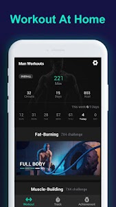 Man Workouts - Abs Workout & Building Muscle 1.0.1
