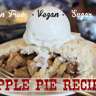 Gluten Free Apple Pie Recipe - Sugar Free!