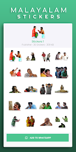 Malayalam Stickers - 5000+ Stickers WAStickerApps 1.0.16