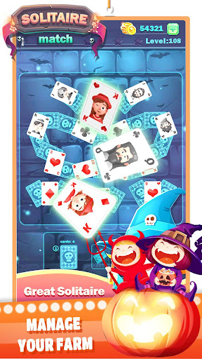 Solitaire Halloween filehippodl screenshot 1