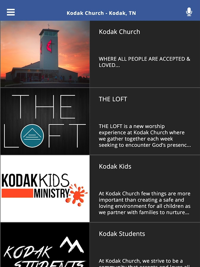 Kodak Church - Kodak, TN- screenshot