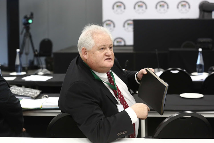 Former Bosasa COO Angelo Agrizzi. He and former parliamentarian Vincent Smith are expected back in court on Tuesday on fraud and corruption charges. File photo.