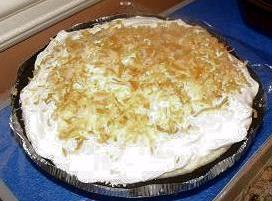 Coconut Pie In A Chocolate Crust Recipe