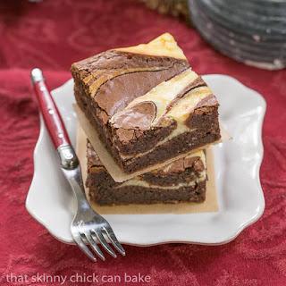 Ricotta Cheesecake Brownies #SundaySupper.