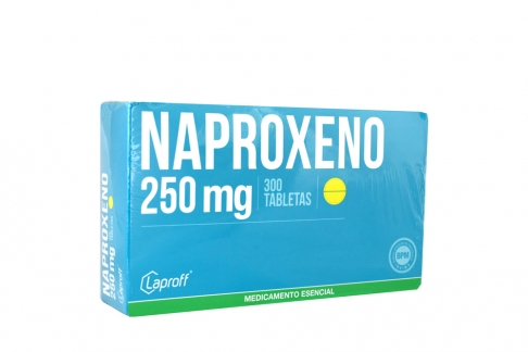 naproxeno 250mg blister 10tabletas laproff