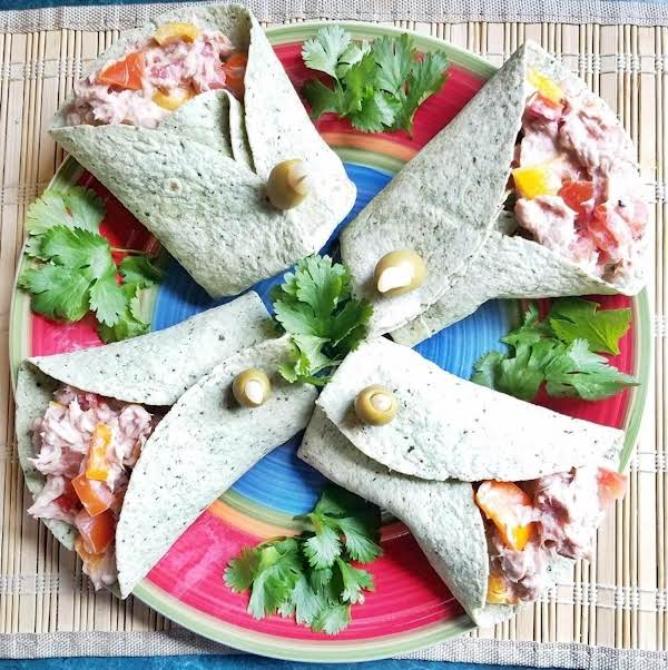 Tuna Veggie Wraps Recipe