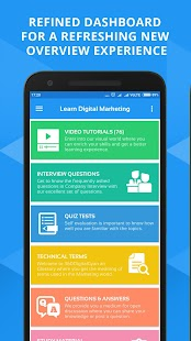 Learn Digital Marketing, SEO, PHP, Java, Android - náhled