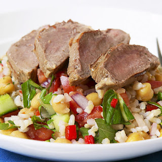 Lamb and Chickpea Salad