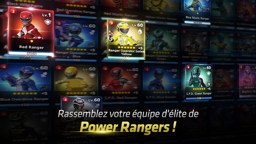 Power Rangers: All Stars  captures d'écran 2
