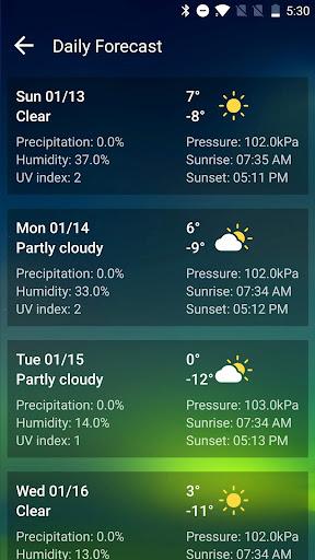Live Weather Forecast App-Radar & Daily Report 15.6.0.45253_45600 app download 8