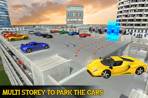 Multi Storey Modern Car Parking for PC