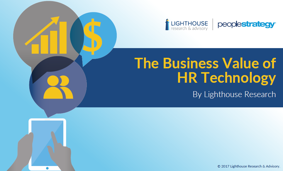eBook cover business value HR tech