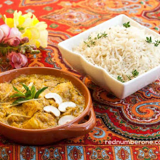 Chicken Curry with Indian Rice Recipe
