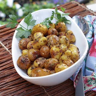Chimichurri Potatoes.
