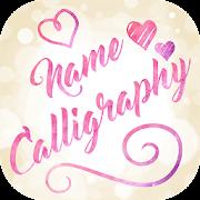 Name Art on Photo Love Calligraphy