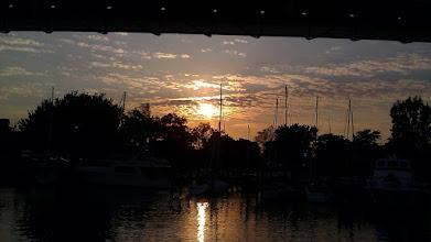Photo: Sunset at St. Joseph, MI.