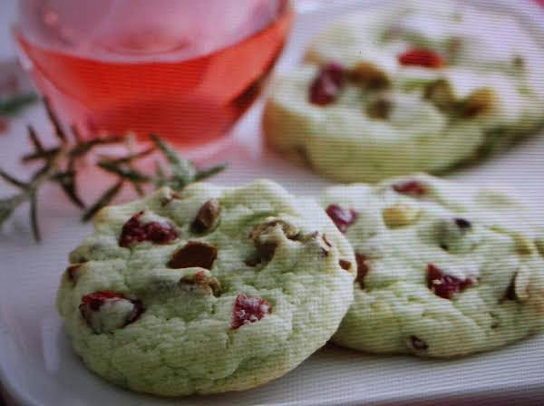 Pistachio Cranberry Cookies By Eddie Recipe