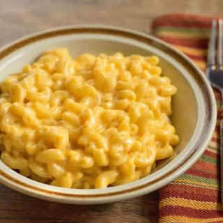 Homemade Macaroni and Cheese Recipe
