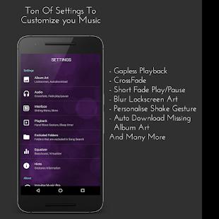 Impulse Music Player Pro Screenshot